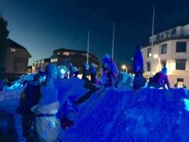 Blåtimen – Vinterpark i Mysen (Ide CarlsenDesign)