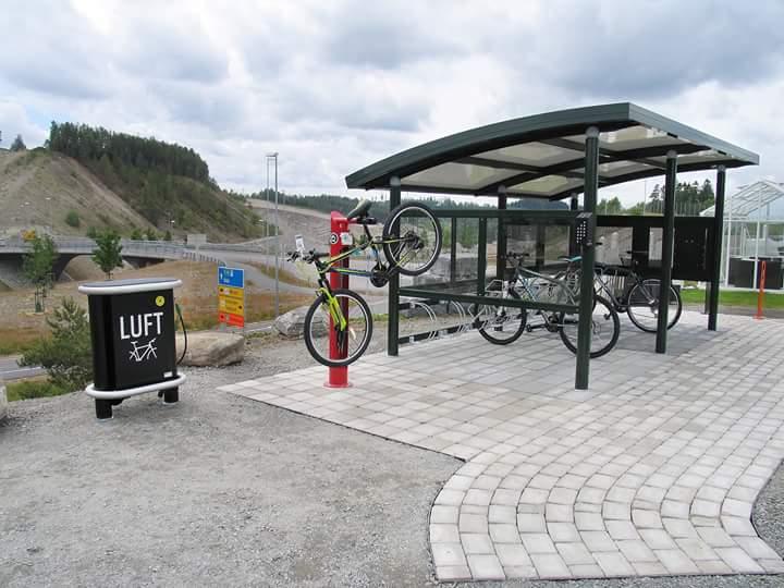 Sykler og utemiljø