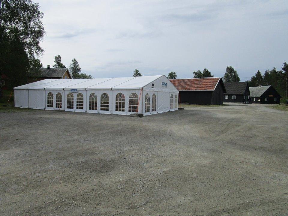 Utleie av telt
